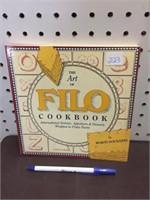BOOK - THE ART OF FILO COOK BOOK
