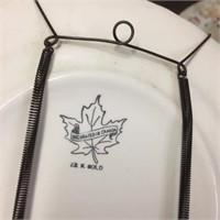 COLLECTOR PLATE - DEER LODGE CANADA