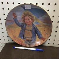 COLLECTOR PLATE - KITE FLYING