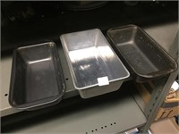 3 BREAD PANS GROUP