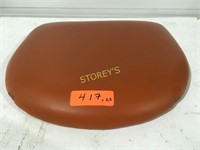 26 Brown Padded Seat Cushions