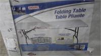 Enduro Plastic Folding Table - NEW