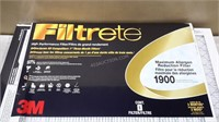 "Lot of 4 Filtrete 3M Air Filters 20""x25""x1"""