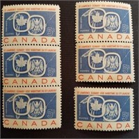 Canadian Mint 5 Cent PQ Postage