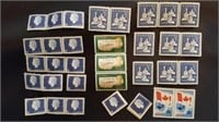 Assorted Canadian Mint Postage