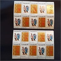 Canadian Mint Indigenous Stamp Strips