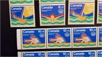 1976 Canadian Olympic Mint Postage
