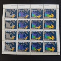 Canadian Mint Stamp Sheet