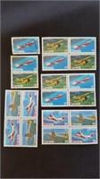 Canadian Aeroplane Theme Mint Postage