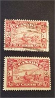 Canadian Harvesting Wheat Postage Lot
