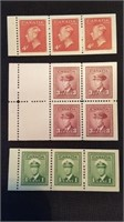 Early 20th Century Canadian Mint Postage Lot