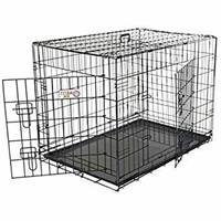 """Medium Dog Crate MidWest iCrate 30"""" Double Door"""