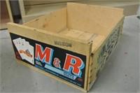 M&R Wood Crate