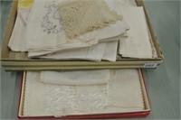 Antique Linen Lot