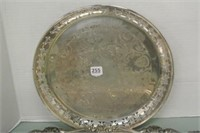 Silver Plate Tray Lot