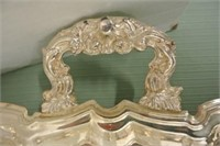 Silver Plate Serving Tray Lot
