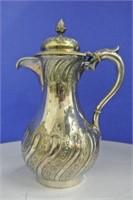 Silver Plate Hot Water Pot