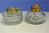 Antique Ink Well Lot