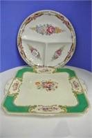 Limoges Porcelain Serving Plate Lot