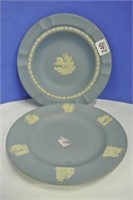Jasperware Wedgwood Plate Lot