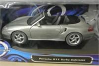 Die Cast Model Porsche 911 Turbo Cabriolet