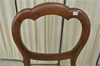 Victorian Balloon Back Mahogany Dining Chair
