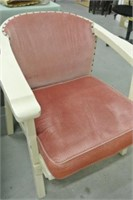 Vintage Wooden Lounge Chair