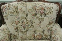 Vintage Upholstered Arm Chair
