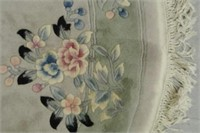 Chinese Cut Circular Carpet