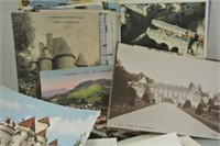 100 British and French Postcards