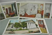 40 Antique Greeting Cards