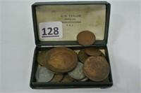 Various European Coins