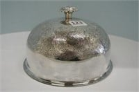 Silver Plate Covered Tray