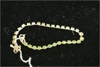 Jade Adorned Tennis Bracelet