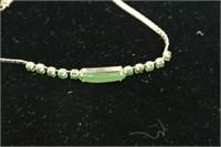 Jade Adorned Bracelet