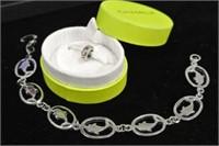 Silver Style Bracelet Lot