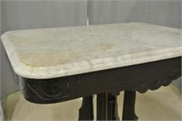 Marble Top Victorian Parlour Table