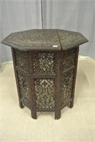 Antique East Indian Carved Table