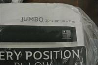 New Sealy Jumbo Pillows
