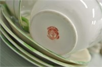 Japanese Vintage Luncheon Dish Set
