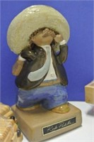 Wood & Pottery Collectibles
