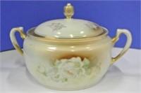 Bavarian Triple Crown Lidded Biscuit Jar