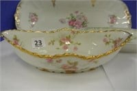 French Antique Porcelain Serving Dishes