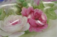Handpainted Rose Adorned Bowl