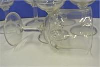 1914 Pressed Glass Goblets