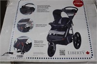 Liberty Range Swivel Wheel Jogging Stroller