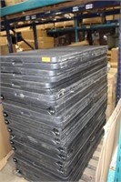 Pallet Lot of 16 - 8ft Plastic Folding Tables