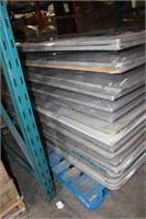 Pallet of 18 Folding Tables
