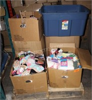Pallet Lot of Mostly New Mixed Clothing and Hanger