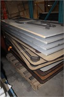Pallet of 11 Folding Tables
